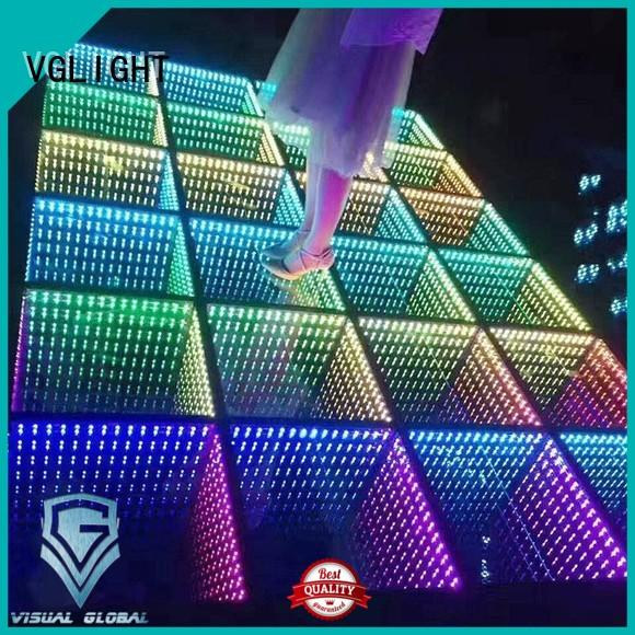 Light Up Dance Floor Mat Infinity